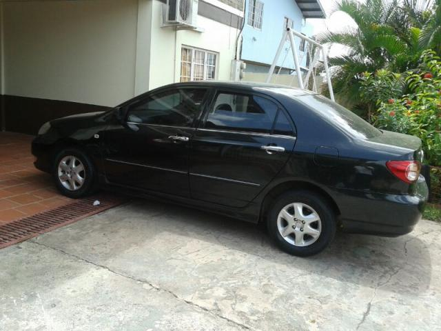 2004 toyota corolla altis trinidad cars for sale. Black Bedroom Furniture Sets. Home Design Ideas