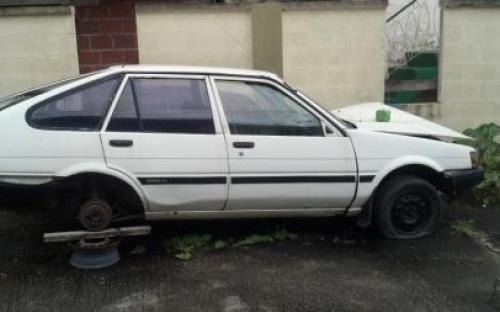 damaged 1985 toyota corolla hatchback trinidad cars for sale. Black Bedroom Furniture Sets. Home Design Ideas